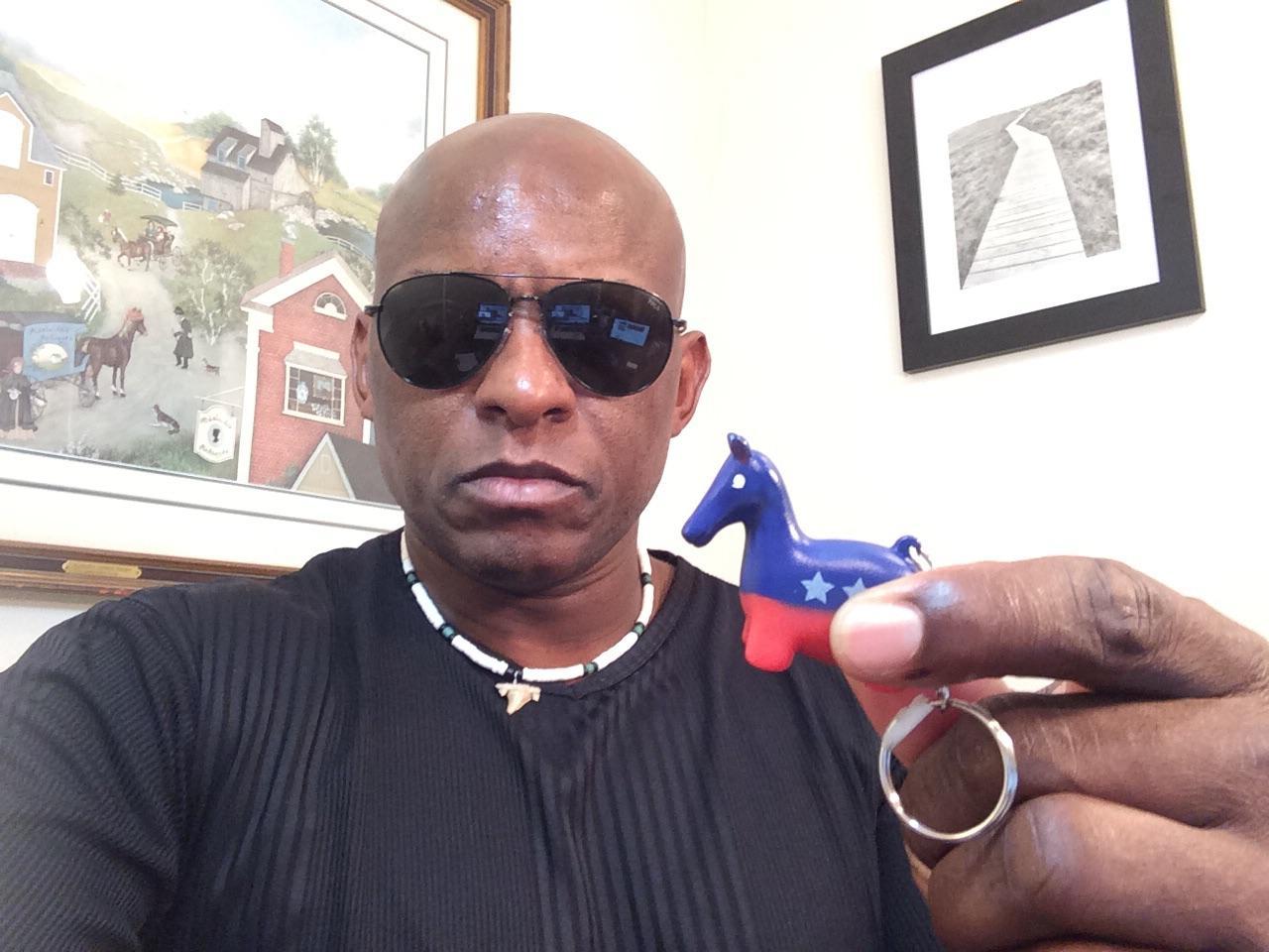 Shitting Donkey Keychain