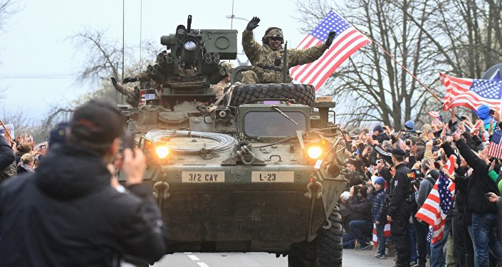 Obama Sends Largest US Deployment to Europe Since Cold War