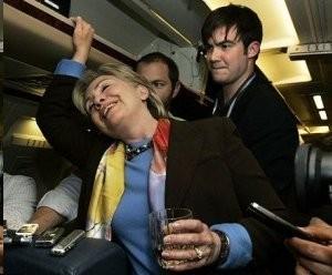 Down Goes Hillary!  Clinton Falls Again