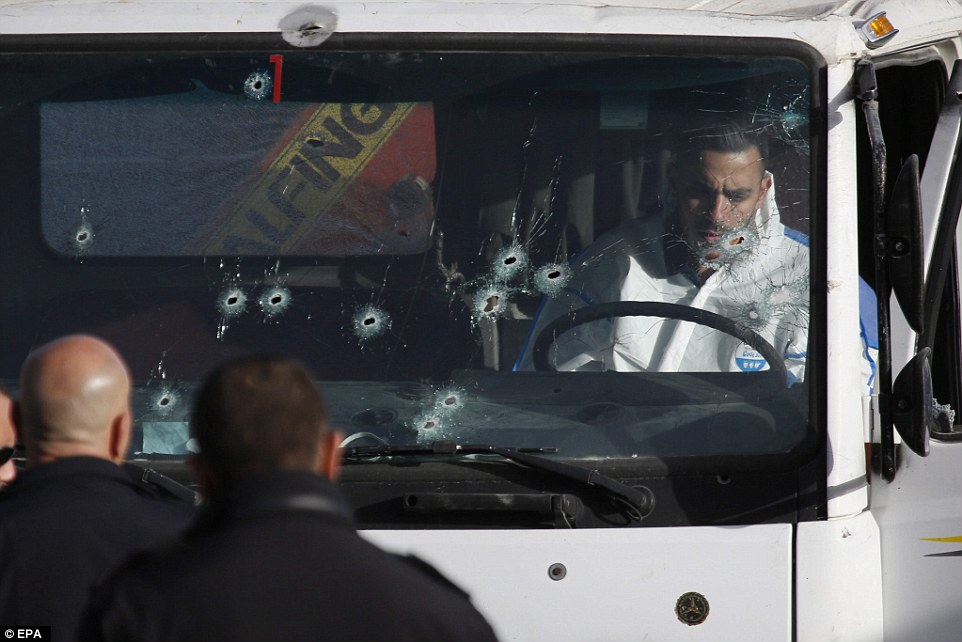 Palestinian Muslim Mows Down Soldiers in Jerusalem With His Truck And Is Killed