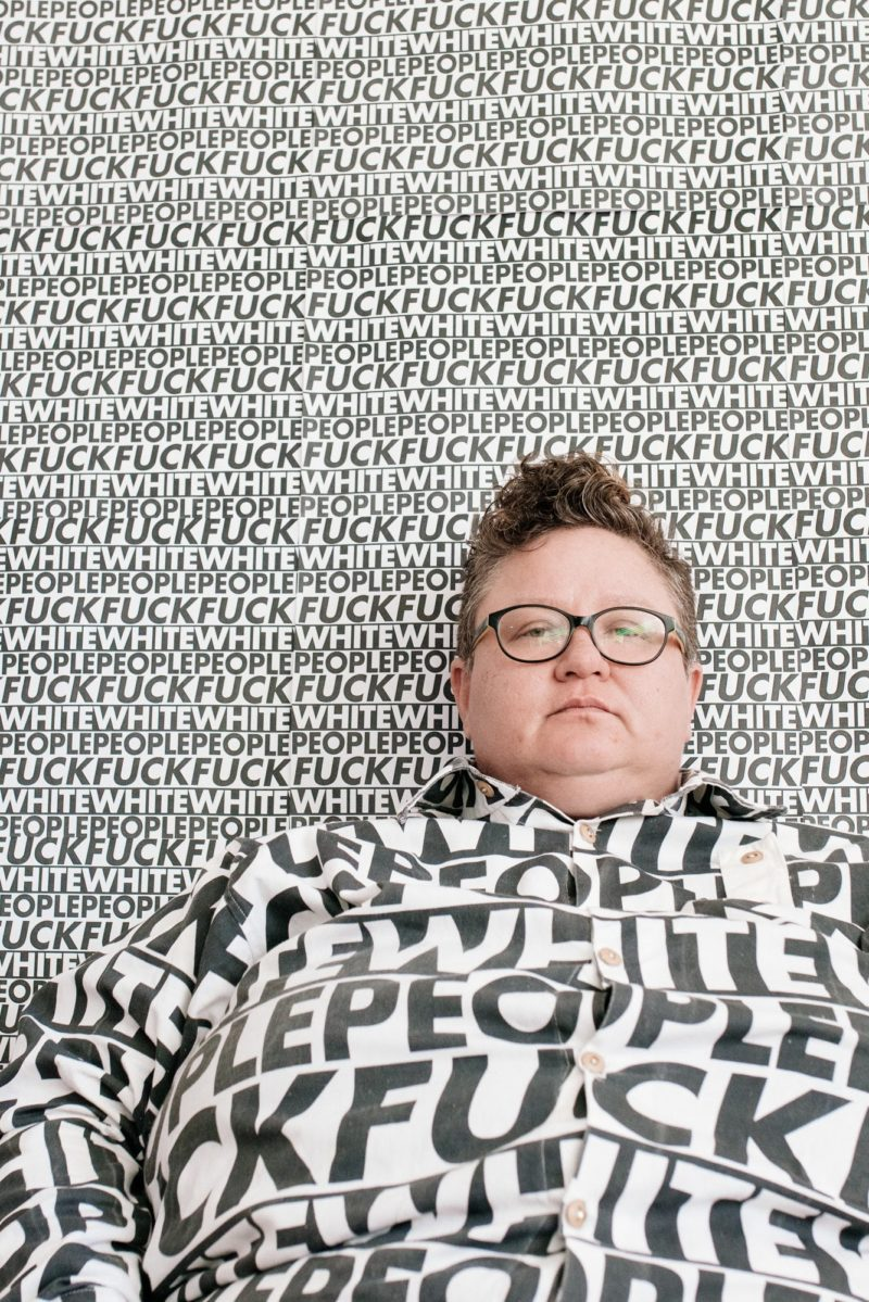 """""""Fuck White People"""" Says FULL Goon Genderqueer Libisian In South Africa"""