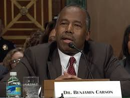 Dr. Carson Has Fun With Pocahontas At Confirmation Hearing