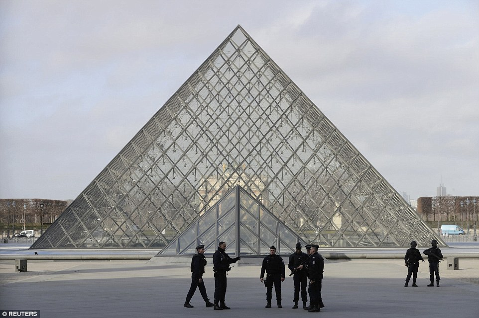 Terrorist Attack at the Louvre