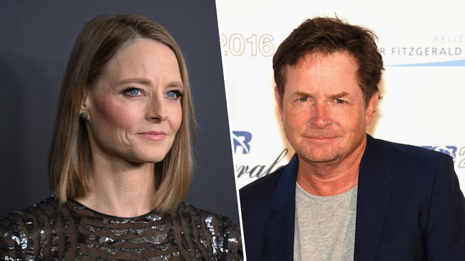 Hollywood Loco's Jodie Foster and Michael J. Fox Do Pre-Oscar Trump Protest Against Ban