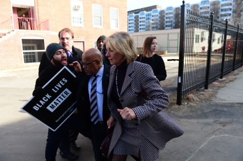 Betsy Devos, Education Secretary, Blocked from Entering DC School