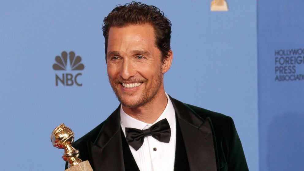 Matthew McConaughey: Trump Won.  Get Over It