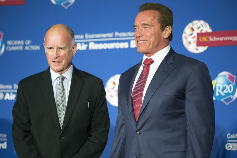 Jerry and Swarzenegger head to D.C. to address Social Issues
