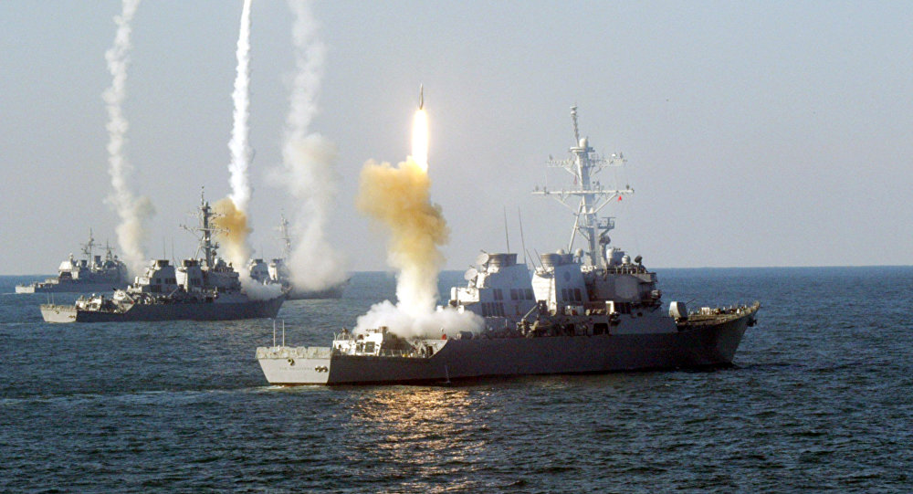 U.S. Navy Encounter Iranian Idiots in the Middle East !