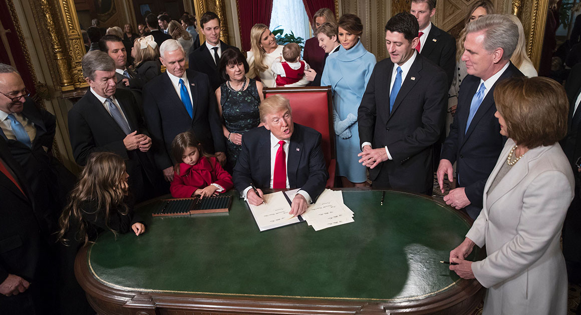 Byron York Writes why he Feels Trump hasn't been led by Congress Effectively