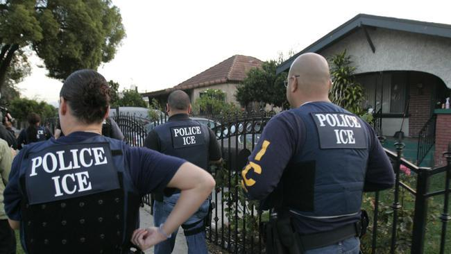 Great Job ICE Police: Operation Eliminate all Illegals