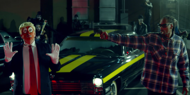 Snoop Dogg Assassinates Trump in Recent Rap Video