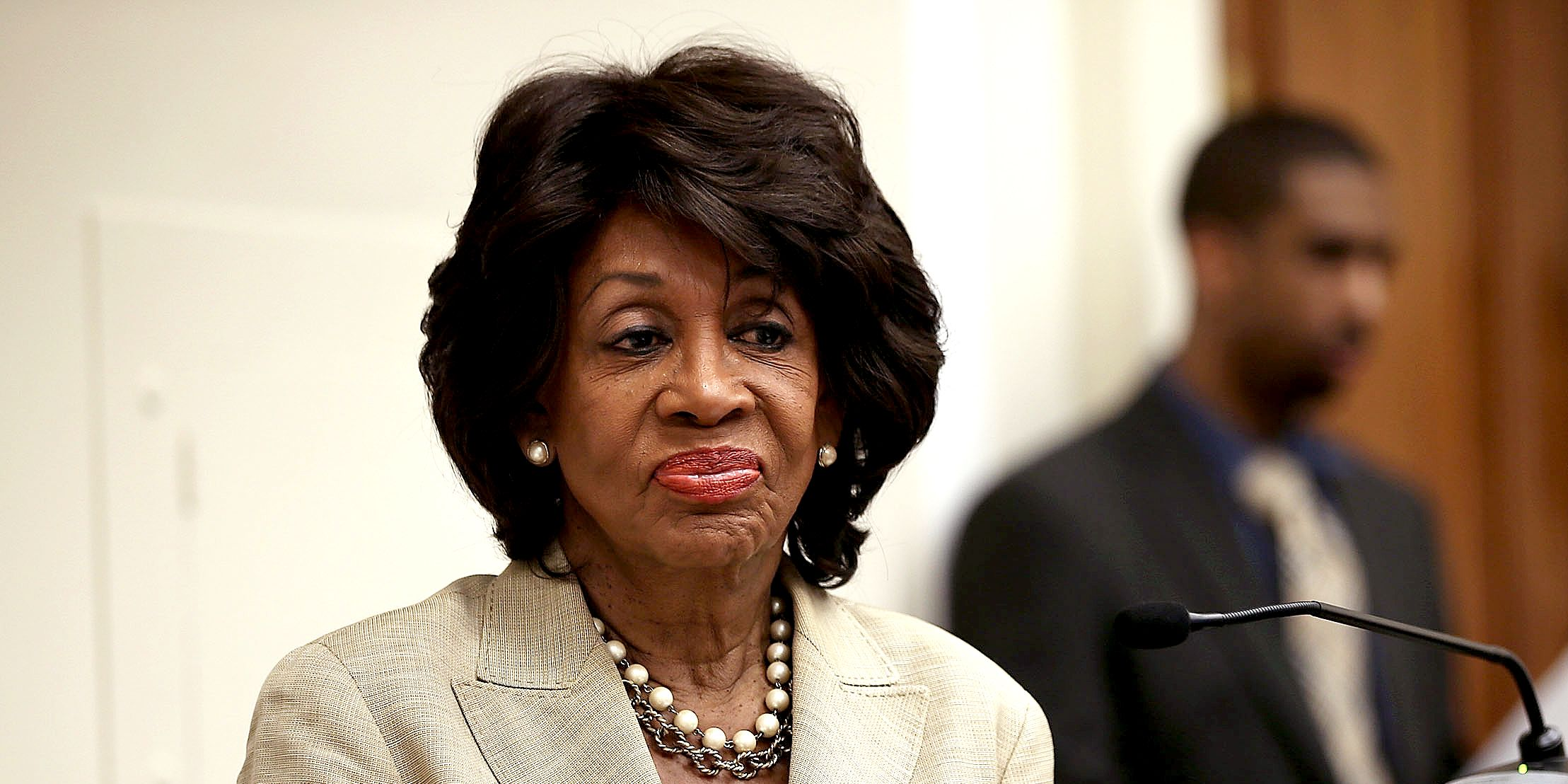 Maxine Waters Brain Farts Again