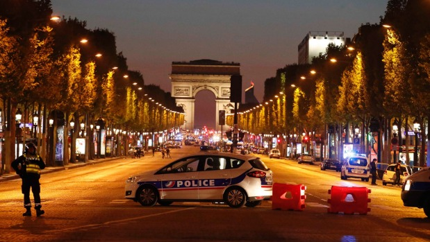 Another Terrorist Attack in Paris- on Champs Elysses