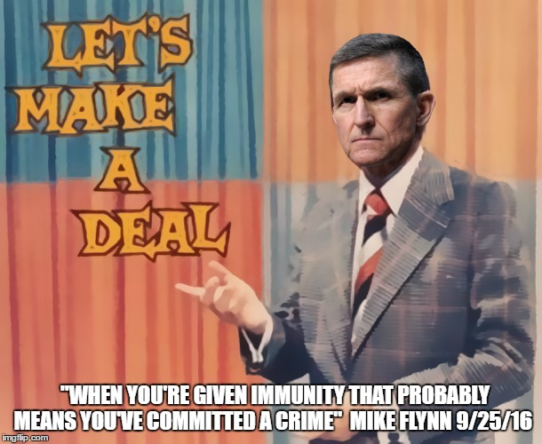 Democrat Flynn Tries to Sell Out Trump