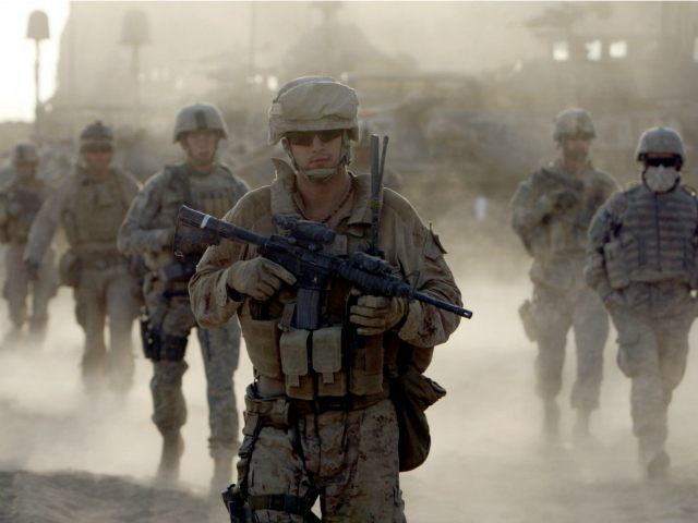 Marines En Route To Afghanistan To Kick Ass