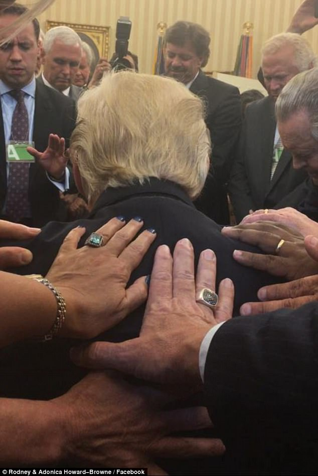Praying for Trump