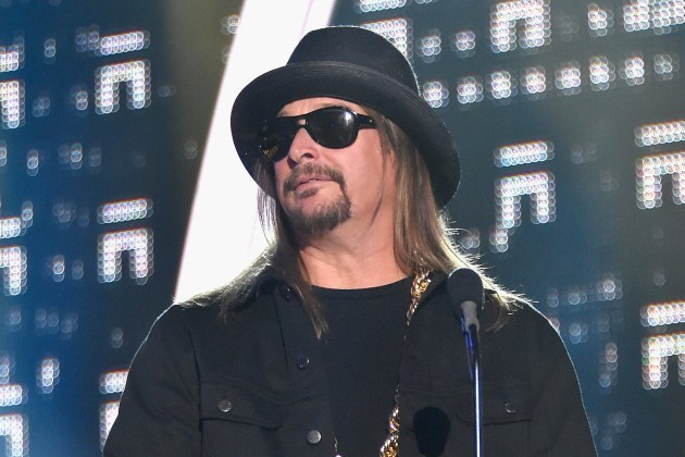 Elizabeth Warren Scared of a Kid Rock Senate Run