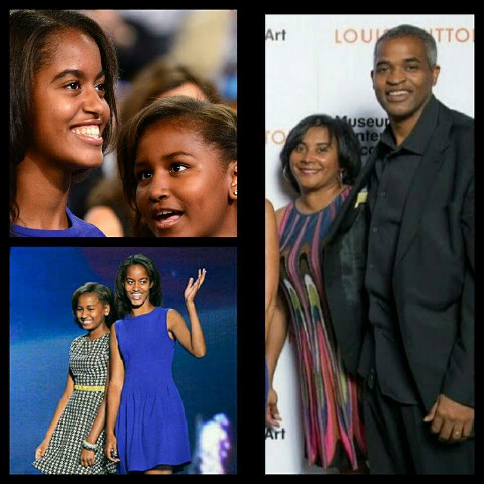 Sasha's And Malia's REAL Parents