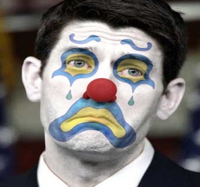 Ryan's Approval Rating Tanks Because He Failed Trump