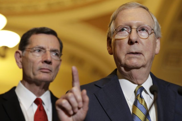 President Donald Trump Tells Senate Majority Leader Mitch McConnell to eliminate the 60-vote but he says hell no
