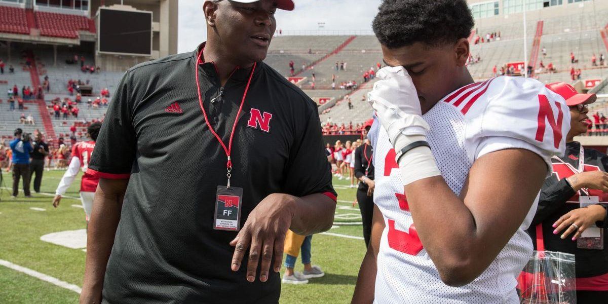 Keyshawn Johnson Pulls Son Off Nebraska Team & Teaches Him How To Be A Man of Character
