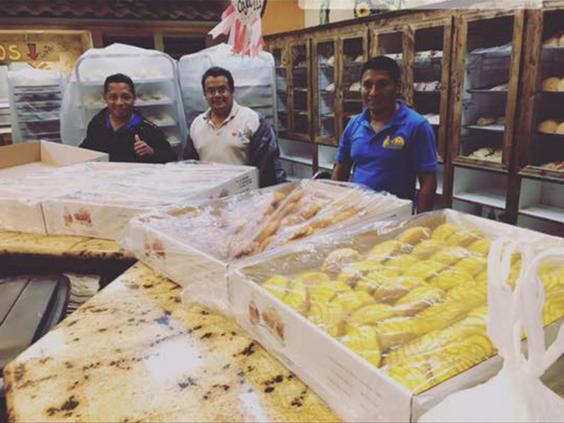 Mexican Bakers Trapped In Bakery Make Bread for Harvey Victims