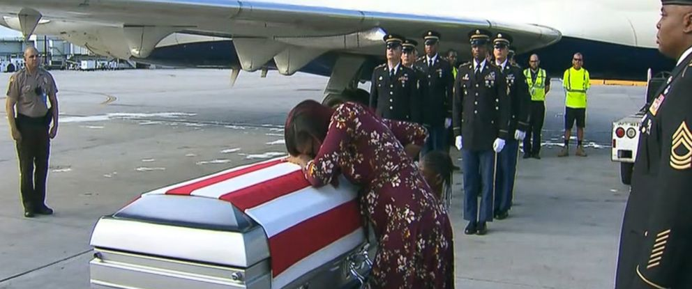 Trump Denies Telling Military Widow That Fallen Soldier 'Knew What He Signed Up For'