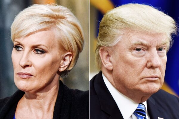Bloody-Face Mika Brzezinski Thinks Trump Wants to Use Nukes