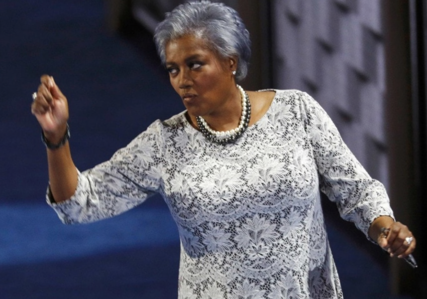 Donna Brazile Challenges Staffers To Who's Got the Biggest Dick Contest