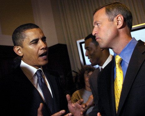 Haha: O'Malley Says Obama Destroyed Democratic Party Like a 'Bad Forest Fire'