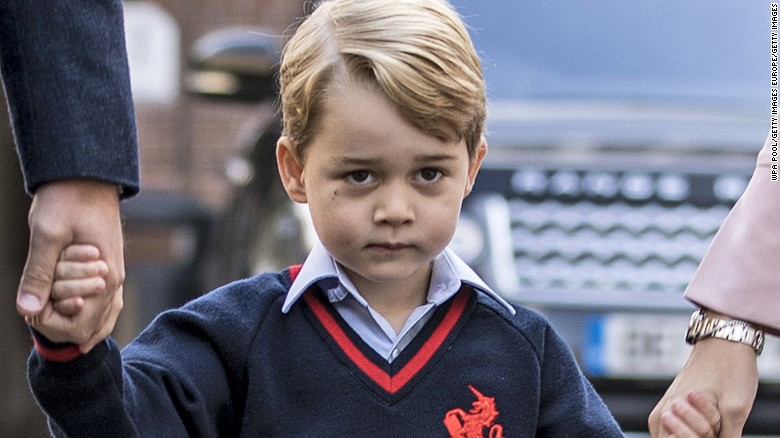 Evil Anglican 'Minister' Urges Prayers For Prince George To Be Gay