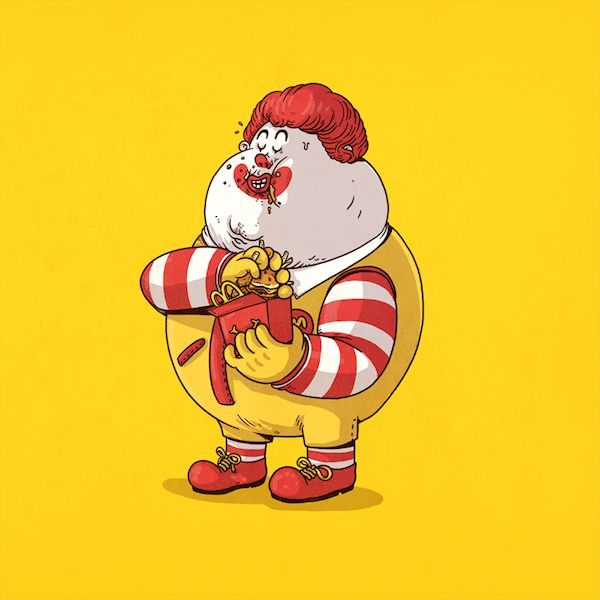 Filet-O-Fish vs. McNuggets?  Brawl at McDonald's