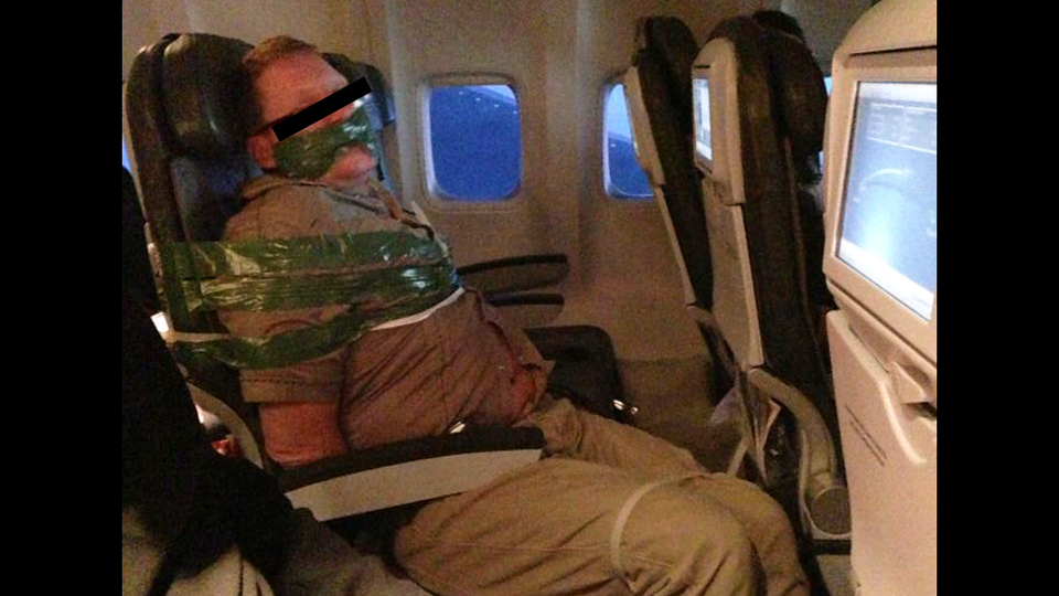 Airlines Are Physically Restraining More Unruly Passengers