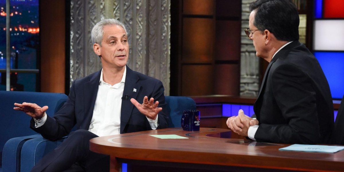 "Rahm Emanuel Says Chicago is a ""Trump-free zone""! The President Not Welcome"
