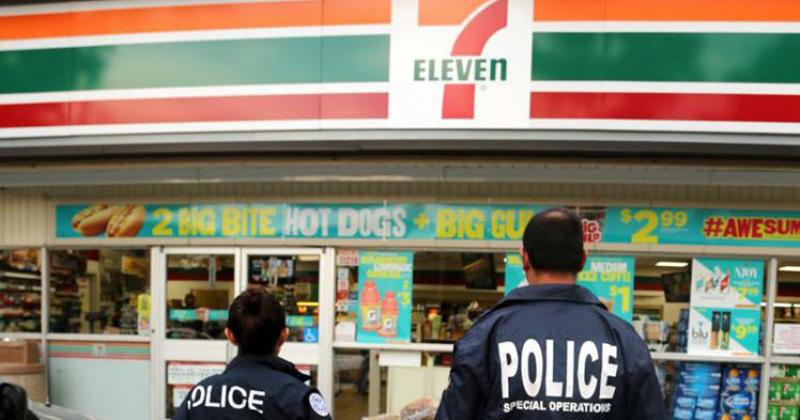 ICE Raid 7-Eleven Stores Nationwide, and  Arrest 21 People