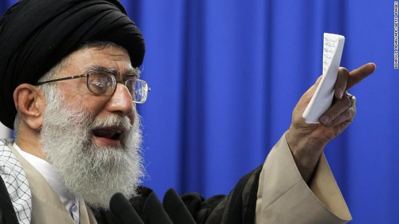 HAHA! Ayatollah Ali Khamenei  Tweets Black Lives Matter Image To Shame America