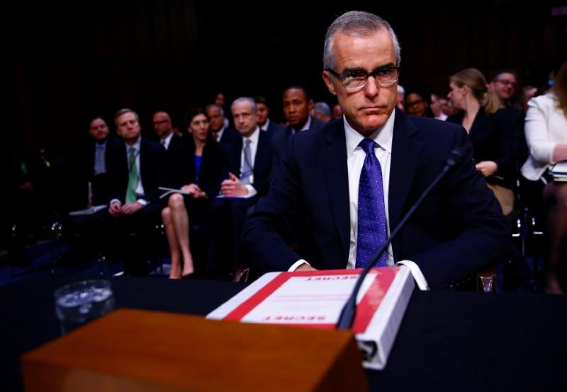 Andrew McCabe Stepping Down As Deputy FBI Director: FIRE THAT BASTARD.