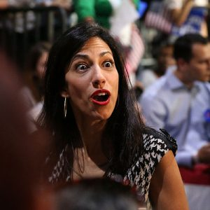 Tump Calls For DOJ Investigation of Huma Abedin