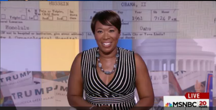 Qua Joy Reid Says No One Nows Who MS-13 Gangs Are Unless They Watch Fox News