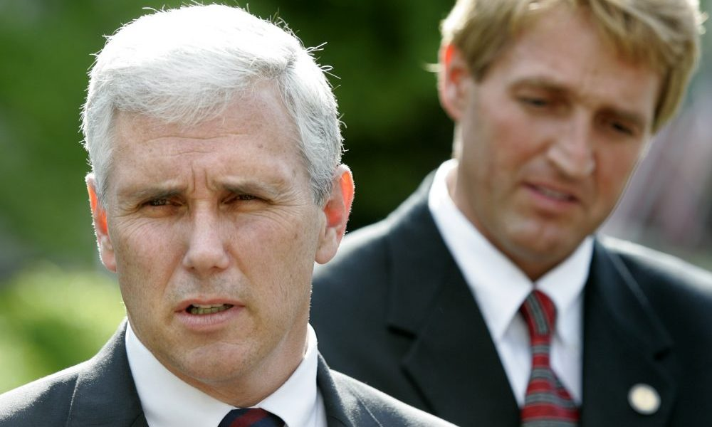 WTH? Mike Pence has invited Sen. Jeff Flake and other pro-amnesty Senators to meeting