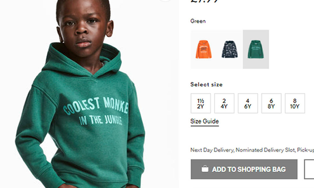 """Coolest Monkey In The Jungle"" Hoodie Sparks Fake Outrage From Black People"