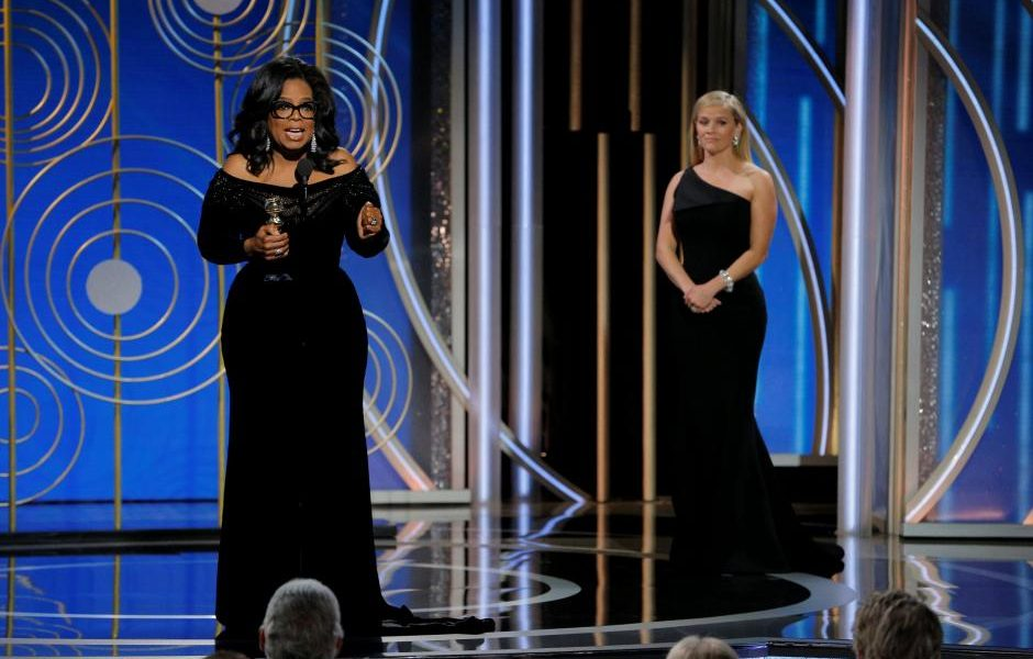 Golden Globes, NBC, and Liberals Want Oprah Winfrey For President
