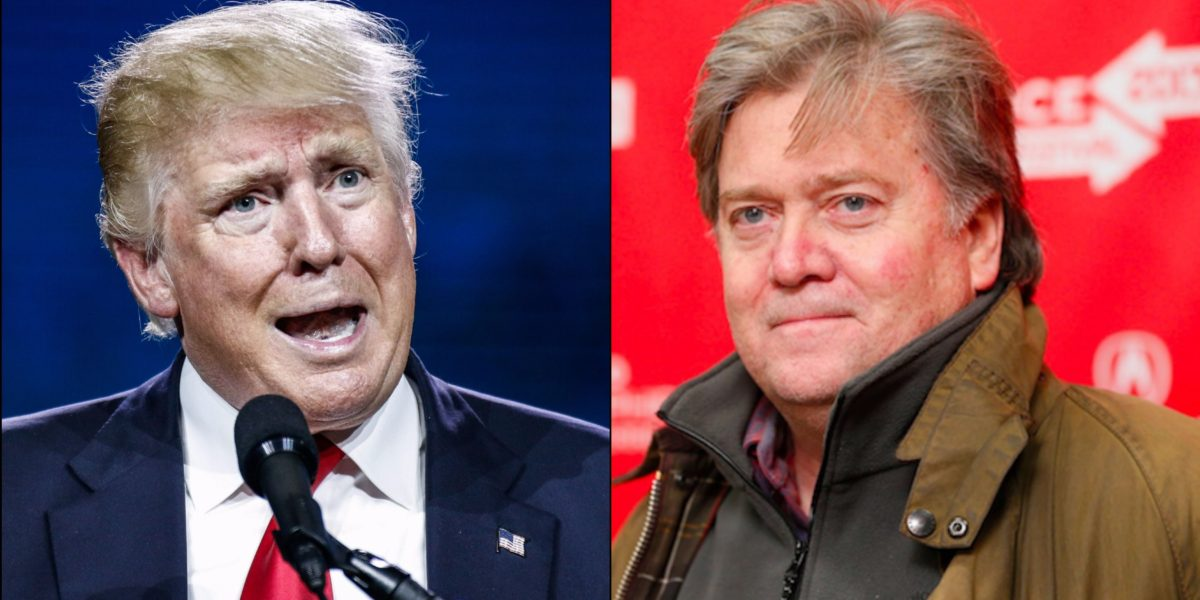"Trump Blast Steve Bannon:  Says He ""Lost His Mind' After Leaving White House"""