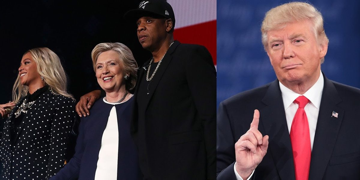 Trump Mocks Jay Z With Tweet On Low Black Unemployment: Eminem Wanted This Attention
