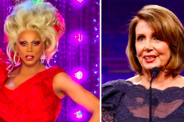 WTF?  Nancy Pelosi Will Be A Guest Judge On RuPaul's Drag Race All-Stars