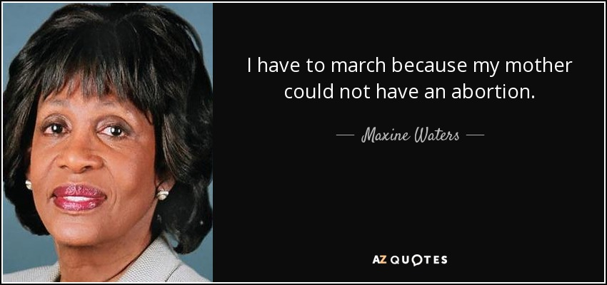 Mother Jefferson aka Maxine Waters Calls Trump A Scumbag and a Moron