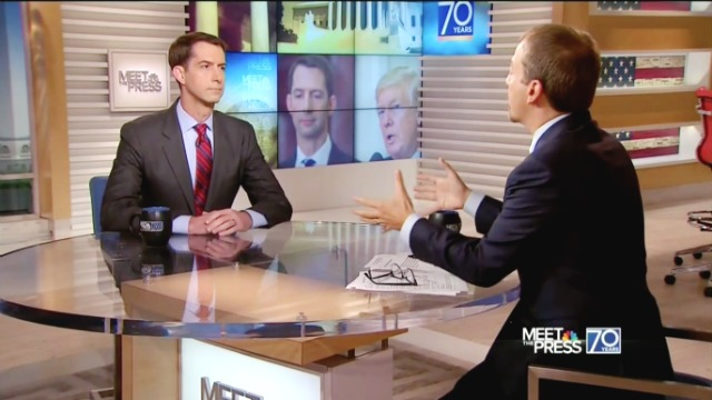 Tom Cotton Destroys Dick Durbin and Lindsey Graham Argument On Amnesty