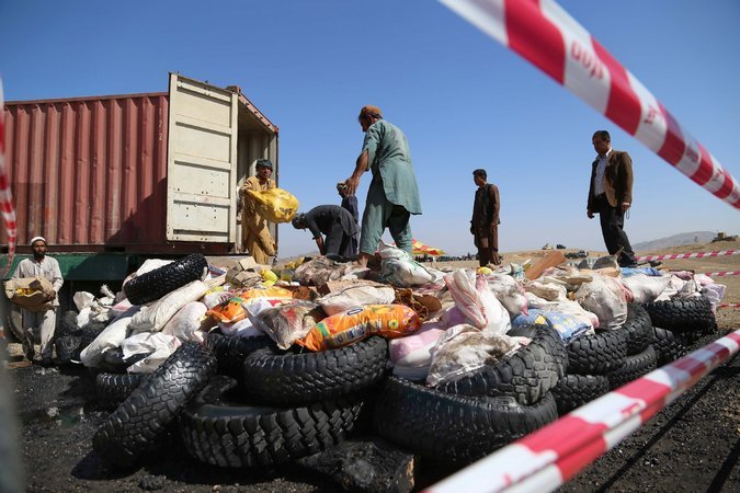 Why Are We Still In Afghan? Taliban Replacing Bombed Heroin Labs in 3 to 4 Days