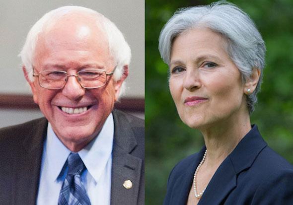 So The Russian Trolls Promoted Bernie Sanders And Jill Stein