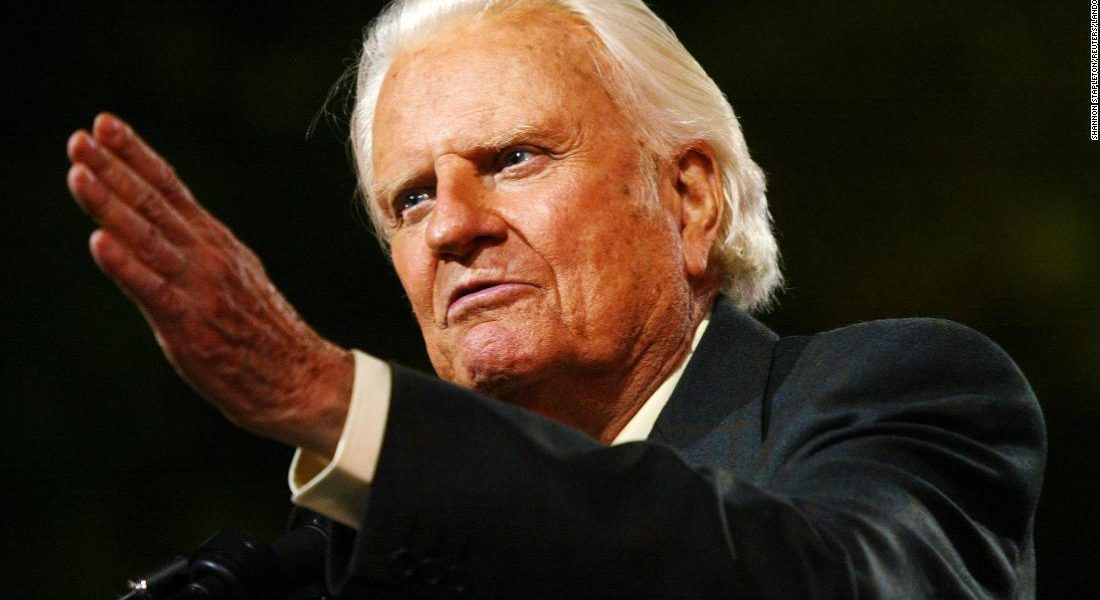 Liberals Attack Billy Graham After He Dies: Says He Was A Homophobic And A POS